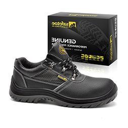 SAFETOE Men Steel Toe Cap Safety Shoes - L7222 Water Resista