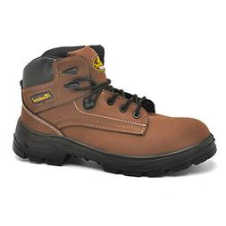 SAFETOE Men's Steel Toe Safety Boots Water-Resistant Lightwe