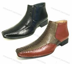 Men's Boots Alligator Crocodile Cowboy Western Leather Lin
