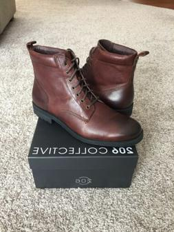 mens denny lace up motorcycle boot