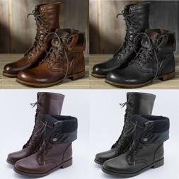 Mens Motorcycle Riding Boots Knight Knee High Punk Tall Comb