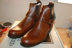 FRYE Mens Stone Harness Chelsea Motorcycle Boot Leather NIB