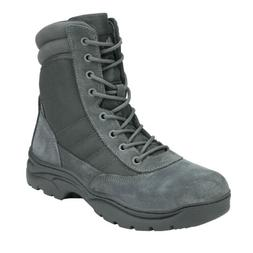 Mens Tactical Duty Boots Army Military Leather Motorcycle Co