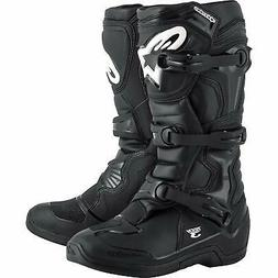 AlpineStars Mens tech 3 Almond Toe Mid-Calf Motorcycle Boots
