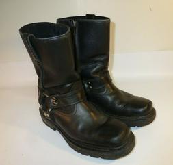 ARIAT Metal Mounts Carbide H2O Harness Boots Men's Black Mot