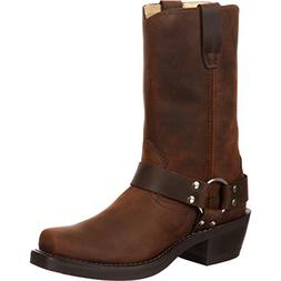 Durango Motorcycle Boots Mens 11 Harness Strider Brown DB594