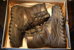 Bates motorcycle boots, men's US size 7, black, military loo
