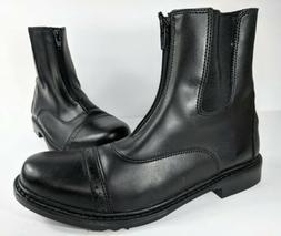 TuffRider Motorcycle Boots Womens Sz 9.5 Front Zip Ladies St