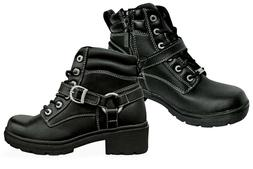 Milwaukee Motorcycle Clothing Company Womens Paragon Boots,