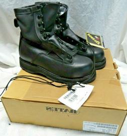 "NEW Bates E27508 9"" Gortex Leather Steel Toe Combat Motorcyc"
