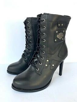 NEW Harley-Davidson Women's Motorcycle Boots D84447 size 6 M