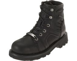 New Harley-Davidson® Women's Waterproof Leila black leather