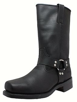 NEW Mens AdTec RideTecs Harness Leather Boot Motorcycle Work