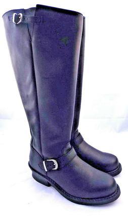 New DURANGO Size 7 Wide Motorcycle Women's Knee High Black