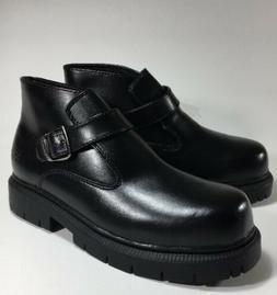 New Skechers Men's Ankle Boots Black Size 6M Motorcycle Or W