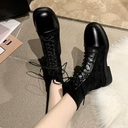 New Women <font><b>Boots</b></font> <font><b>Motorcycle</b><