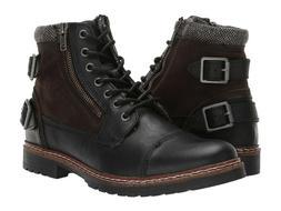 NIB NEW Men's Steve Madden Wantedd Ankle Boots Shoes Joshua