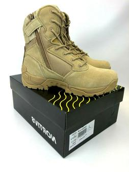 NORTIV 8 Men's Zip Military Tactical Motorcycle Combat Ankle
