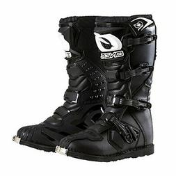 O'Neal Men's New Logo Rider Boot , Black, Size 8.0