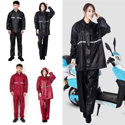 Outdoor Water-proof Raincoat Motorcycle Bike Cycling Rainwea