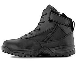 Maelstrom PATROL 6'' Black Waterproof Tactical Duty Work Boo