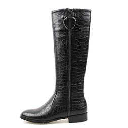 perixir Black Winter Knee High Ariat Boots for Women Riding