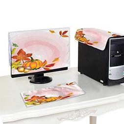 Miki Da Plastic Computer dust Cover 22''MonitorSet Vecto