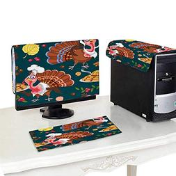 Miki Da Plastic Computer dust Cover 22''MonitorSet Seaml