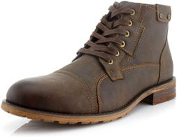 Polar Fox Ronny MPX806037 Mens Casual Work Lace Up Classic M