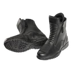 pro tourer waterproof motorcycle boots 12 black