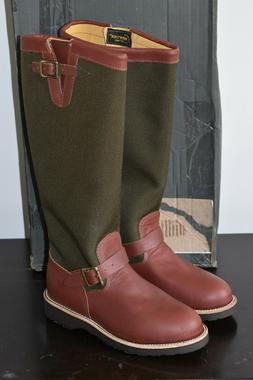 """Chippewa Men's 17"""" Pull On 23913 Snake Boot,BrownEsspresso,7"""