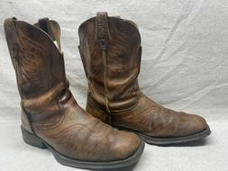 Ariat Rambler 10010944 Men's 11 D Brown Leather Square Toe W