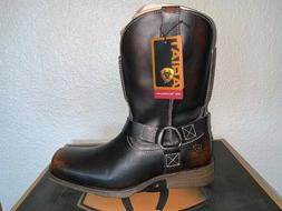 "Ariat Rambler 11"" Mens Size 11D Motorcycle Harness Boots New"