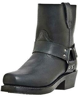 Dingo Rev Up Zipper Motorcycle Boot - Square Toe - DI19090