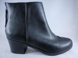 Dolcetta Rogers Women's Ankle Boots Black Zip Up Classic Boo