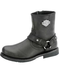 Harley-Davidson Men's Scout Motorcylce Harness Boot, Black,