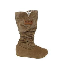 LandFox Shoes, Autumn Winter Shoes,Woman Knee High Boots Fla