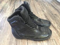 Bates SP500 Beltline Leather/Nylon Waterproof Motorcycle Boo