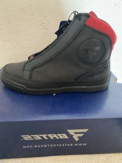 Bates ST250 Taser Leather Motorcycle Boot Men's Size 9
