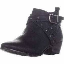 Style & Co. Womens Harper2 Almond Toe Ankle Motorcycle Boots