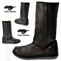 Rocket Dog Sugar Daddy Classic Cow Suede Winter Boots Black