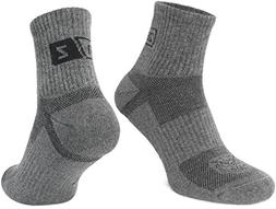 Tactical Quarter Crew Boot Socks - Hiking Trekking Military