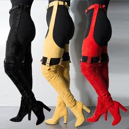 Tall Boots Winter Boots Over The Knee High Heel Boots High S