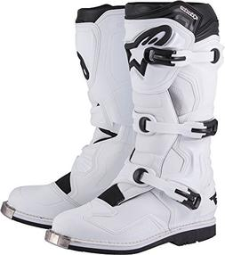 Alpinestars Tech 1 Men's Off-Road Motorcycle Boots - White /