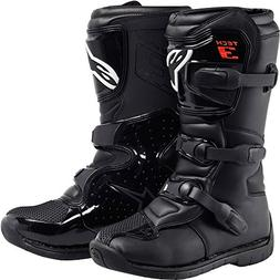 Alpinestars Tech 3S Boy's Off-Road Motorcycle Boots - Black