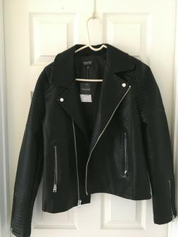Top Shop Leather Jacket - US Size 10 - Brand NEW with Price
