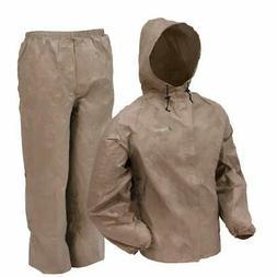 Frogg Toggs Ultra Lite Rain Suit Khaki XLarge UL12104-04XL S
