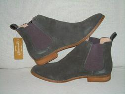 UNBRANDED Classic Slip-on Original Suede Chelsea Boots MENS
