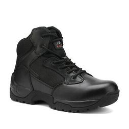 US Men's Motorcycle military boots Combat Rubber sole leathe