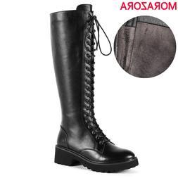 MORAZORA Wholesale price genuine leather <font><b>boots</b><